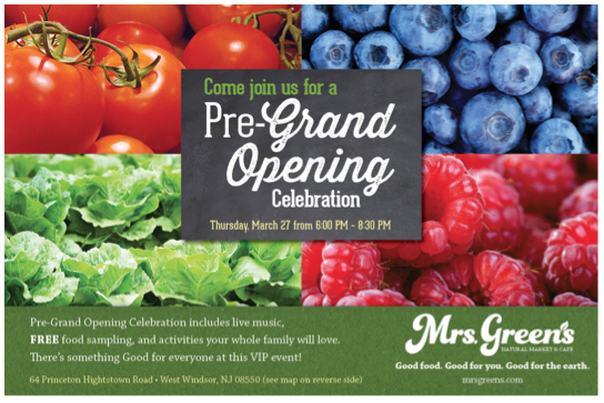 Mrs. Green's Natural Market Pre-Grand Opening