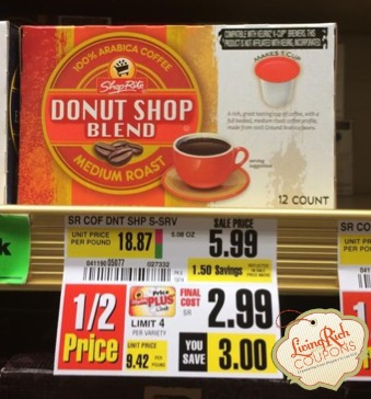 ShopRite K-Cups Deal