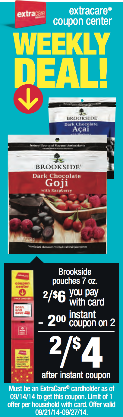 Brookside chocolate coupons