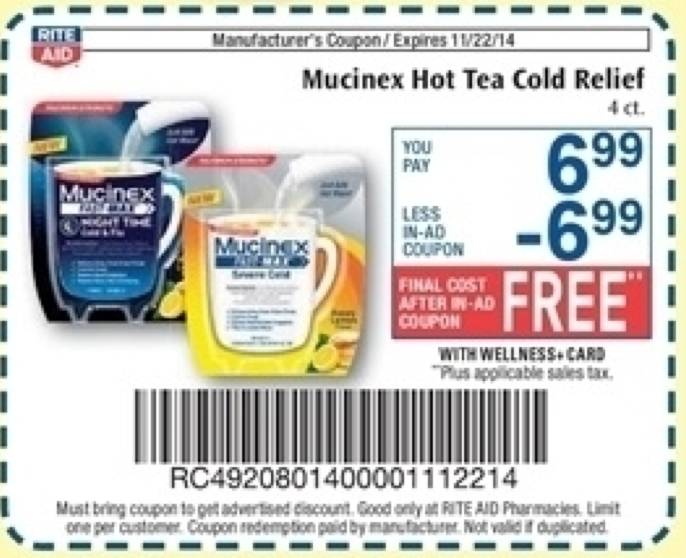 picture regarding Mucinex Printable Coupon named Mucinex Coupon - No cost at Ceremony Assist this 7 days -Residing Loaded