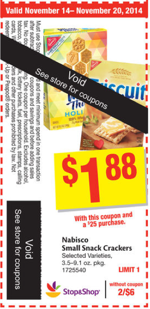Nabisco coupons for sale