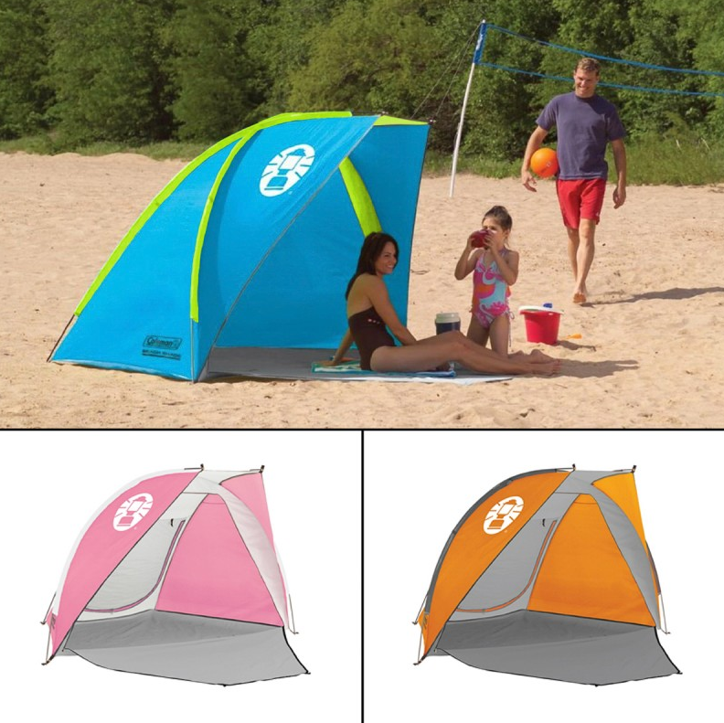 Beach Deals Coleman Beach Shade Tent Just 24 99 Living