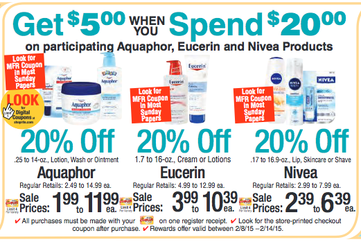 graphic about Eucerin Printable Coupon titled Eucerin discount codes 2018 - Most straightforward grocery discount codes printable