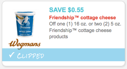 $1/2 Good Culture Cottage Cheese, exp. Varies $1/2 Good Culture cottage cheese cups oz, 9/9 SS #1, exp. 12/31/ After coupon and Target Cartwheel Offer .