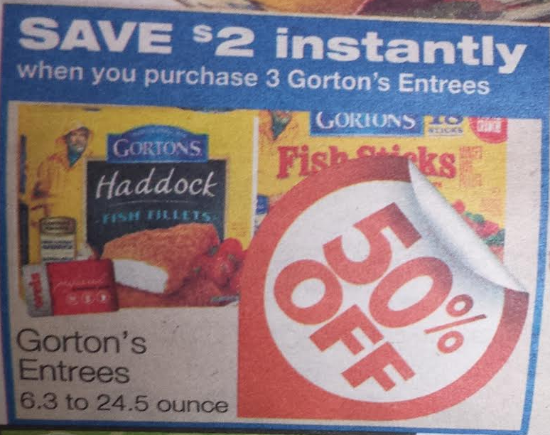 Gorton 39 s coupon only at weisliving rich with coupons for Gorton s fish coupons