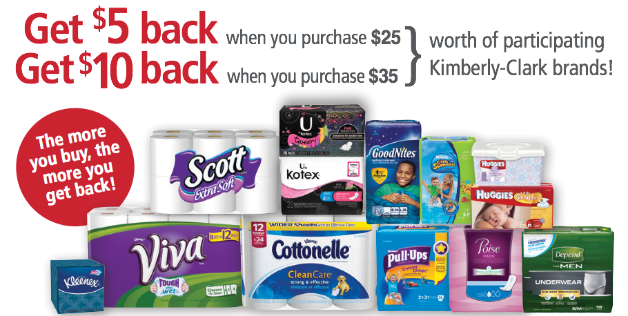 Head over to the Publix Digital Coupon page where your will find a huge coupon that will save you $10 off your purchase of $30 in participating Kimberly-Clark items. Because this coupon applies to so many different items, everyone should be able to stock up on their preferred products!