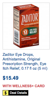 graphic about Zaditor Coupon Printable named Zaditor Eye Drops Coupon - Conserve $3Residing Prosperous With Coupons®