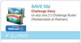 Challenge butter coupon
