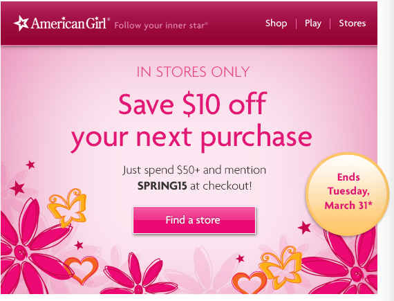 Being a patron of American Girl toys will definitely pay off greatly.