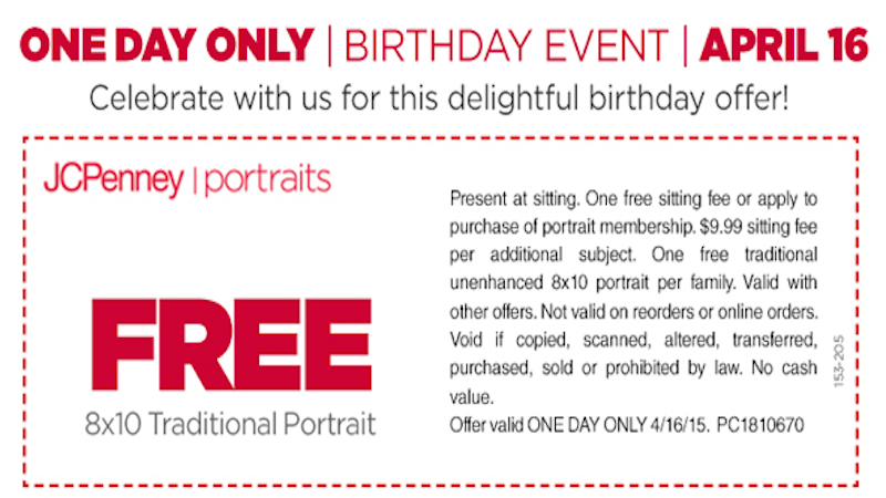 Best JCPenney Portraits Coupon & Promo Code For You! Fast Download Or Print Free% Verified Coupons · Top Brands & Savings · + Coupons Available.