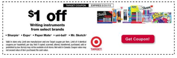 photograph relating to School Supplies Coupons Printable identified as Workplace Components Focus Package deal - $0.02 Paper Buddy Pens, $0.29