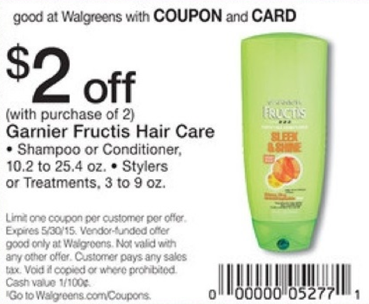 photograph relating to Garnier Coupons Printable called Garnier Coupon - Totally free at Walgreens 4/26Residing Wealthy With