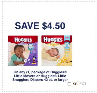 Kimberly clark huggies coupons