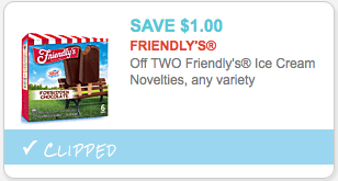 image regarding Friendly's Ice Cream Coupons Printable Grocery called Friendlys Ice Product Coupon - Preserve $1.00 off 2Residing Wealthy