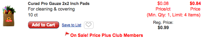 Curad Coupon Free Guaze Pads At Shopriteliving Rich With Coupons