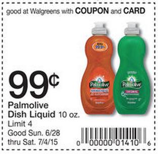 Printable coupons palmolive dish soap