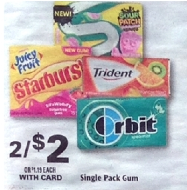 photo regarding Trident Coupons Printable titled Trident Gum Coupon - as lower as Free of charge at Ceremony Assist 7/5Residing