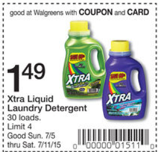 photograph about Xtra Laundry Detergent Printable Coupon named Xtra Laundry Detergent Coupon - $0.03 for each stress at