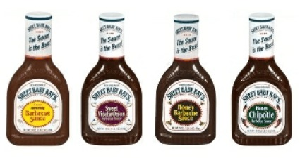 Sweet Baby Ray's BBQ Sauce Coupon