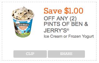 photograph regarding Ben and Jerry's Printable Coupons named Ben Jerrys Discount coupons - Simply just $1.49 at ShopRIteLiving Abundant