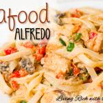 Seafood Alfredo
