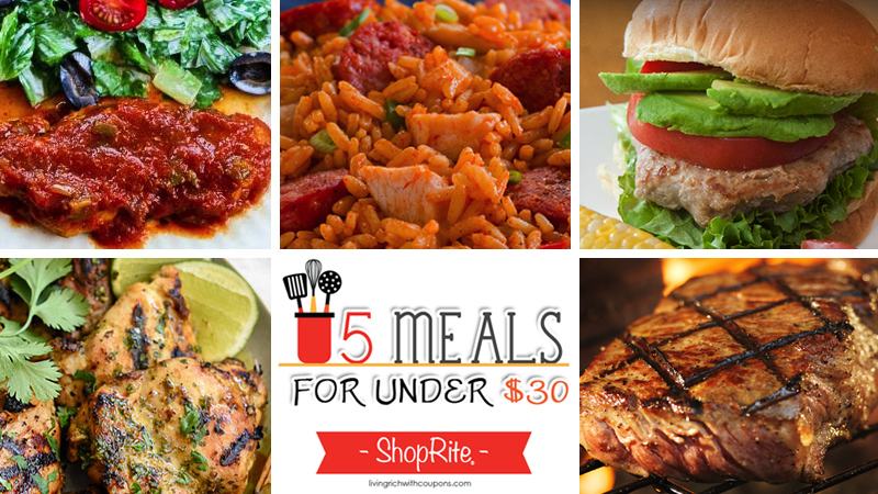 5 Meals for Under $30 at ShopRite