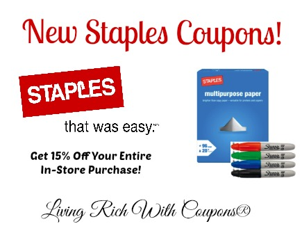 photograph relating to Staples Printable Coupon named Staples coupon towards kohls : Participant killer coupon code