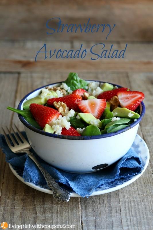 Strawberry Avocado Salad Recipe
