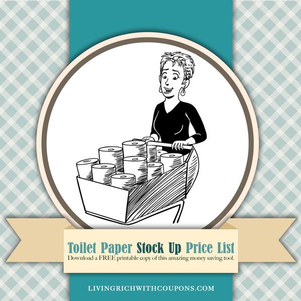 Toilet Paper Stock Up Price Lists