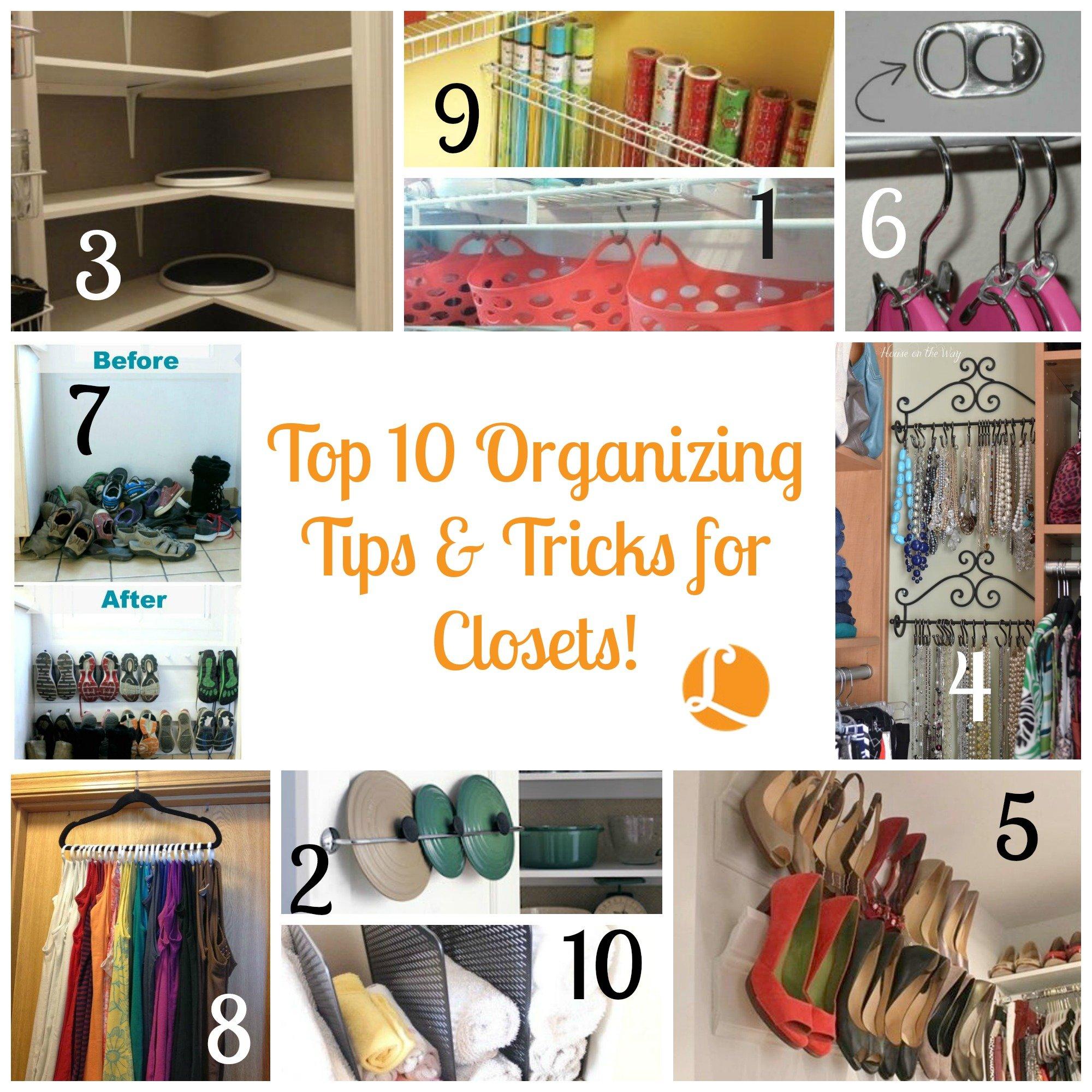 Captivating Top10OrganizingTipsu0026TricksClosets_12115