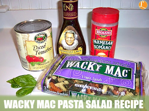 Wacky Mac Pasta Salad Recipe