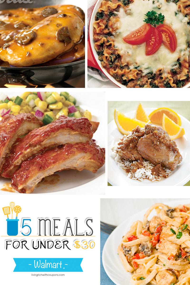5 meals for under 30 at walmart deals living rich with for Swai fish walmart