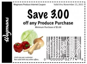Wegmans Produce Coupon