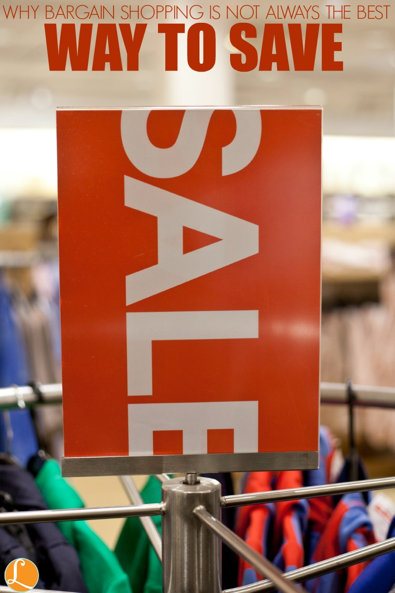 Why Bargain Shopping is Not Always the Best Way to Save