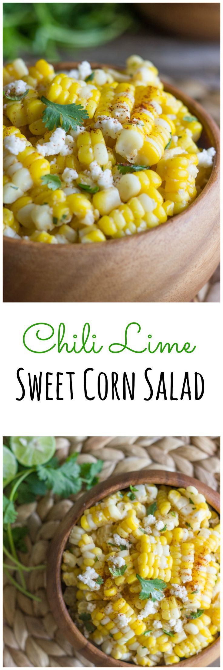 Chili LImie Sweet Corn Salad