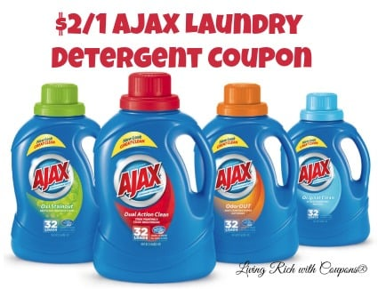 Ajax Laundry Coupon