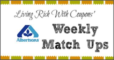 Albertsons match ups 4/23