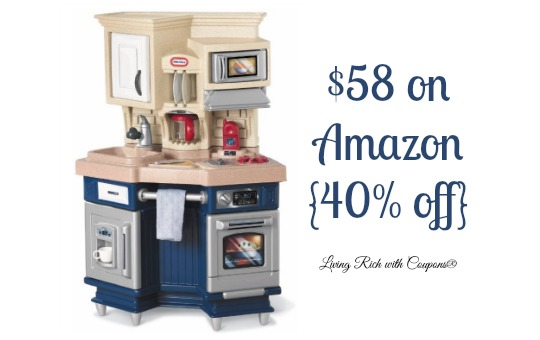 Toy Deals - Little Tikes Super Chef Kitchen just $58 -Living Rich ...
