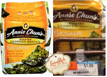 Annie Chun's Seaweed Snacks Whole Foods Deal