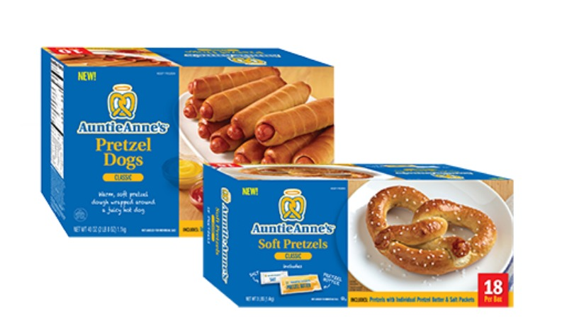 Auntie anne's coupons online