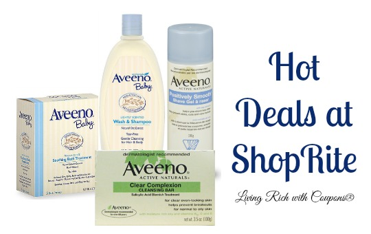 Aveeno Coupon - ShopRite Aveeno Deals -