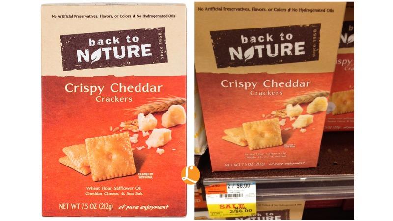 back to nature crispy cheddar