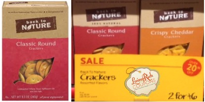Back to Nature Crackers Whole Foods Deal