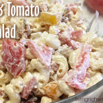 Bacon and Tomato Pasta Salad recipe