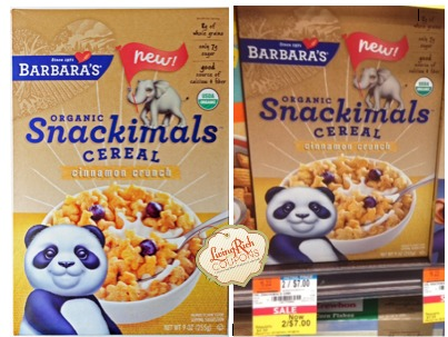 Barbara's Organic Snackimals Whole Foods Deal