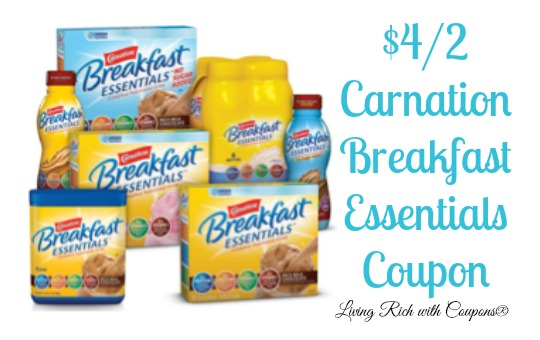 Breakfast essentials coupons 2018
