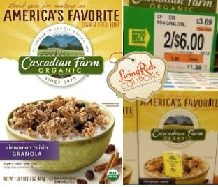 Cascadian Farm Cereal Giant Deal
