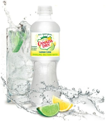 Canada Dry Sparkling Water $1.33 at Walmart! (Reg. Price $3.33)