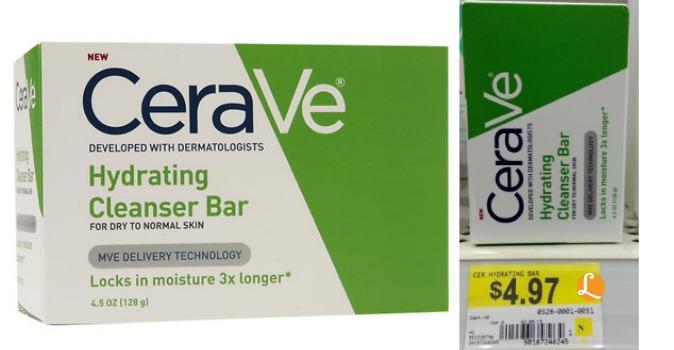 cerave cleansing bar Walmart