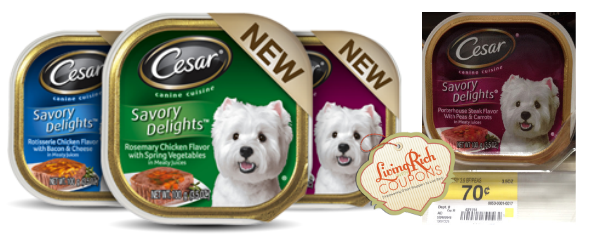 Cesar Dog Food Coupons Walmart